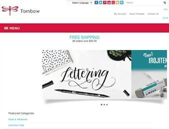 tombowusa.com screenshot