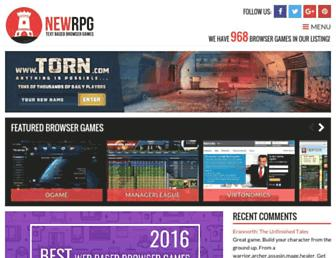 newrpg.com screenshot