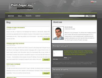 piotrzegar.eu screenshot