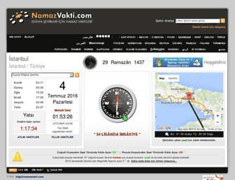 Thumbshot of Namazvakti.com