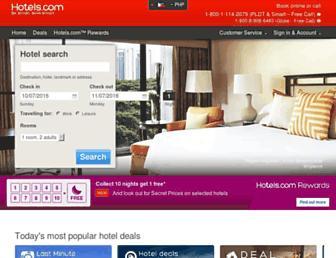 ph.hotels.com screenshot