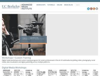 multimedia.journalism.berkeley.edu screenshot