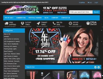 Thumbshot of Flashingblinkylights.com