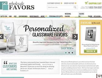 Thumbshot of Wholesalefavors.com