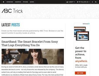 abctrick.net screenshot