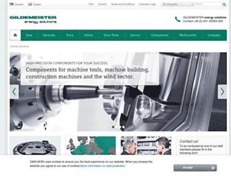 Main page screenshot of af.net