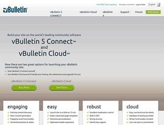 vbulletin.com screenshot