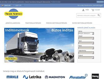 tradeservice.hu screenshot