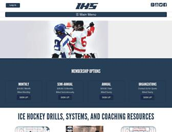 icehockeysystems.com screenshot
