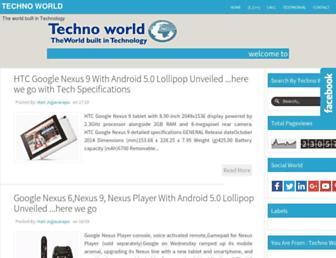 technoworld007.blogspot.com screenshot