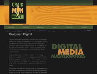 craigmandigital.com screenshot