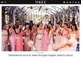 Thumbshot of Vogue.ua