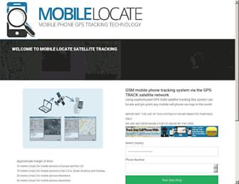 mobilelocate.net screenshot