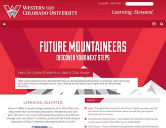 Thumbshot of Western.edu