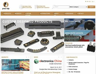 precidip.com screenshot