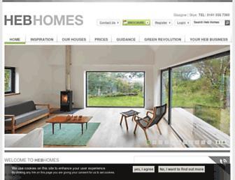 hebrideanhomes.com screenshot