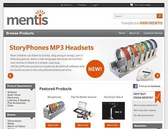 mentis.co.nz screenshot