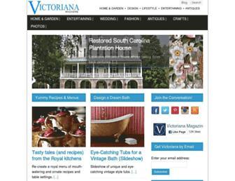 victoriana.com screenshot