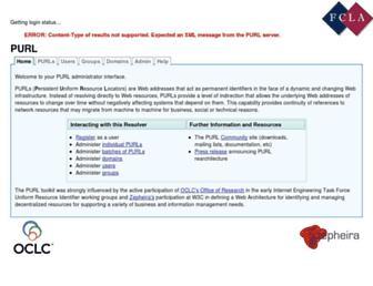 purl.fcla.edu screenshot