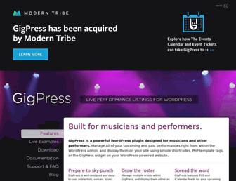 Thumbshot of Gigpress.com