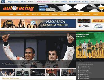 autoracing.com.br screenshot