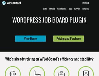 Thumbshot of Wpjobboard.net