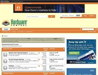 hardwarecentral.com screenshot