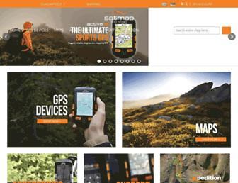 satmap.com screenshot
