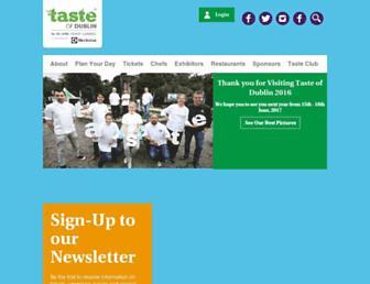 Thumbshot of Tasteofdublin.ie
