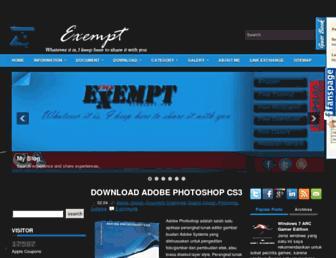free-exempt.blogspot.com screenshot