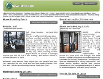 Thumbshot of Newhorse.com