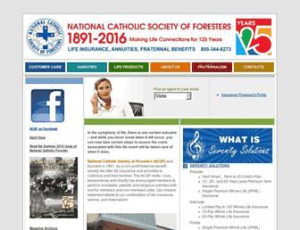 ncsf.com screenshot