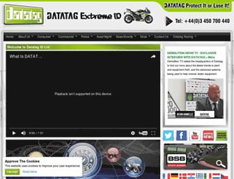datatag.co.uk screenshot