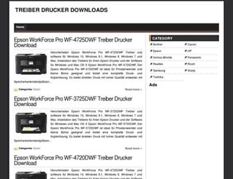 treiberdrucker.com screenshot