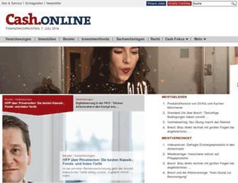 cash-online.de screenshot