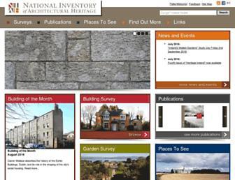 buildingsofireland.ie screenshot