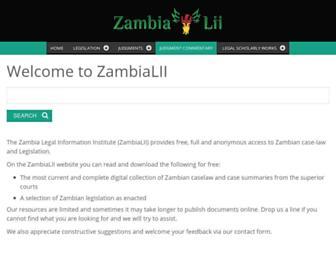 zambialii.org screenshot