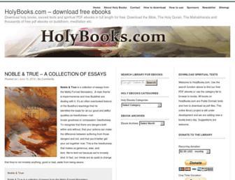 holybooks.com screenshot