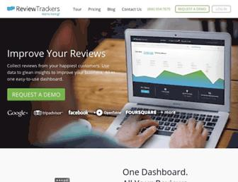 reviewtrackers.com screenshot