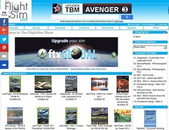 flightsimstore.com screenshot