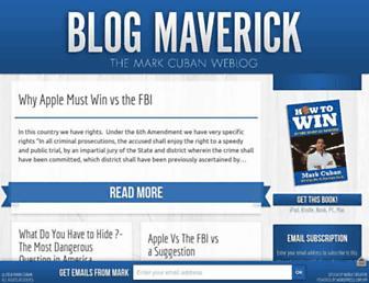 Thumbshot of Blogmaverick.com