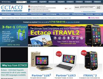 ectaco.com screenshot