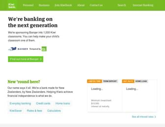Thumbshot of Kiwibank.co.nz