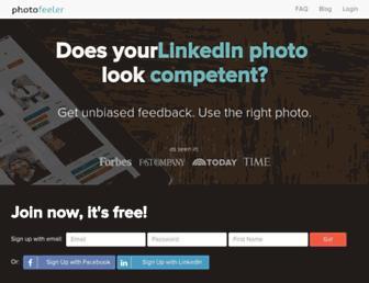 Thumbshot of Photofeeler.com