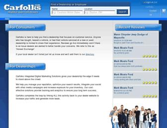 carfolks.com screenshot