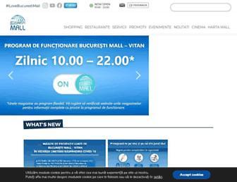 bucurestimall.ro screenshot