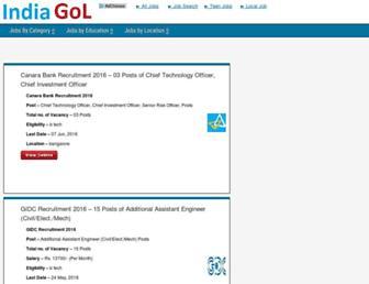 Thumbshot of Indiagol.com