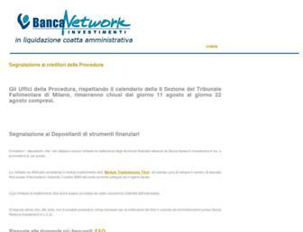 Thumbshot of Bancanetwork.it