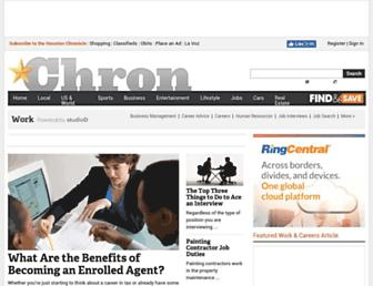 work.chron.com screenshot