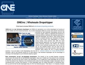 oneinc.com screenshot
